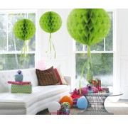 Honeycomb Bal Lime Groen - per stuk