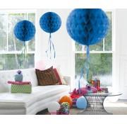 Honeycomb Bal Blauw - per stuk