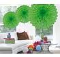Honeycomb Fan Lime Groen 45 cm - per stuk