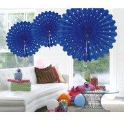Honeycomb Fan Blauw - per stuk