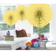 Honeycomb Fan Ivoor - per stuk