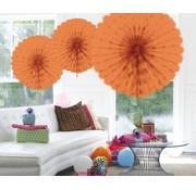 Honeycomb Fan Zalm 45 cm - per stuk