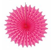 Honeycomb Fan Fuchsia 45 cm - per stuk