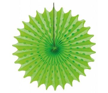 Honeycomb Fan Groen 45 cm - per stuk
