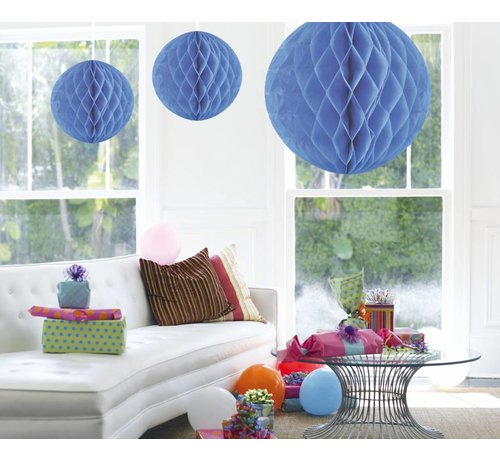 Honeycomb Bal Baby Blauw XL 50 cm - per stuk