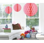 Honeycomb Bal Baby Roze XL - per stuk
