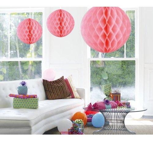 Honeycomb Bal Baby Roze XL 50 cm - per stuk