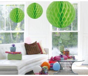 Honeycomb Bal Lime Groen XL 50 cm - per stuk