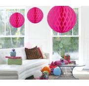 Honeycomb Bal Magenta XL - per stuk