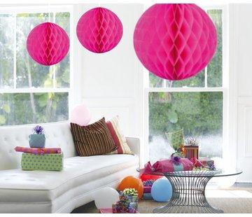 Honeycomb Bal Magenta XL 50cm - per stuk