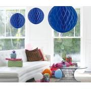 Honeycomb Bal Blauw XL 50 cm - per stuk