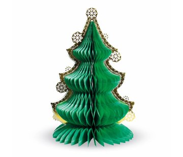 Honeycomb Kerstboom 30 cm - per stuk
