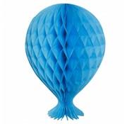 Honeycomb Ballon Baby Blauw - per stuk