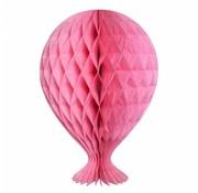 Honeycomb Ballon Baby Roze - per stuk