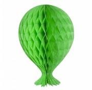 Honeycomb Ballon Lime Groen - per stuk