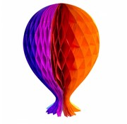 Honeycomb Ballon Multicolor - per stuk