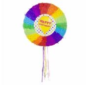 Piñata Happy Birthday Ballon - per stuk
