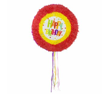 Piñata Happy Birthday Ster - per stuk