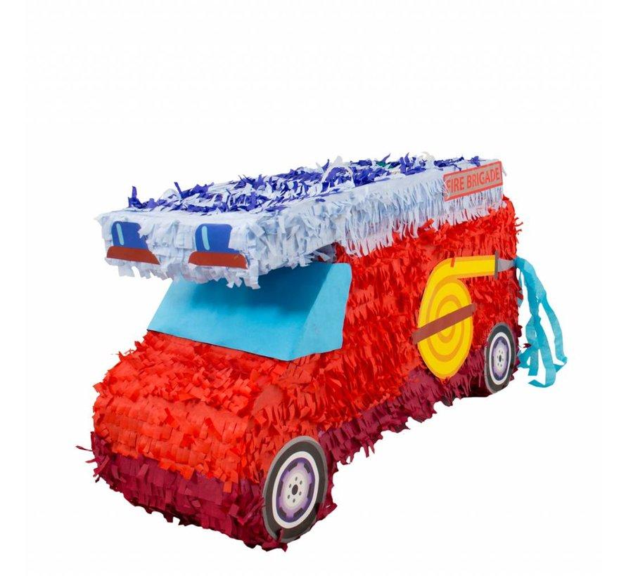 Piñata Brandweerauto - per stuk