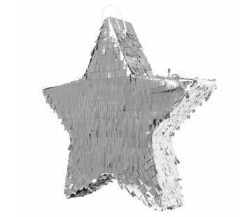 Piñata Ster Zilver - per stuk