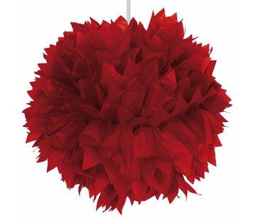 Pompom Rood - per stuk