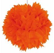 Pompom Oranje - per stuk