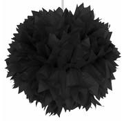 Pompom Zwart - per stuk