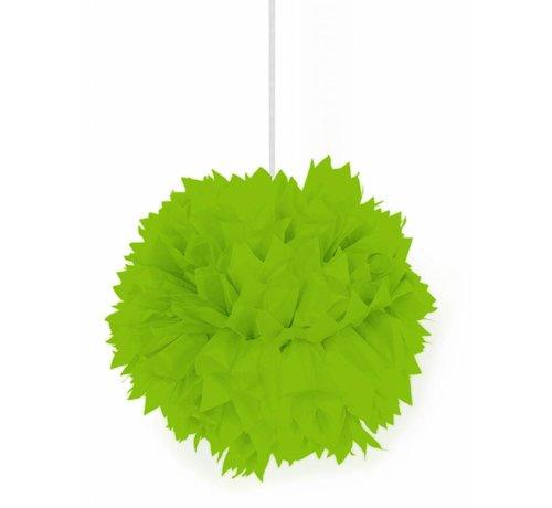 Pompom Lime Groen - per stuk