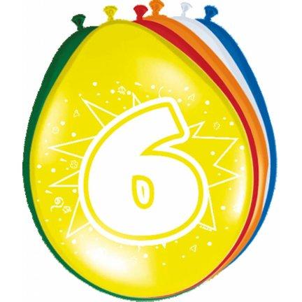 Goedkoop verjaardag versiering 6 jaar online kopen
