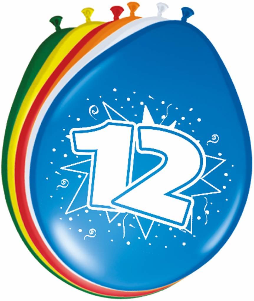 Verjaardag versiering 12 jaar