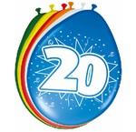 Verjaardag versiering 20 jaar