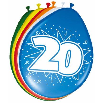 Goedkoop verjaardag versiering 20 jaar kopen