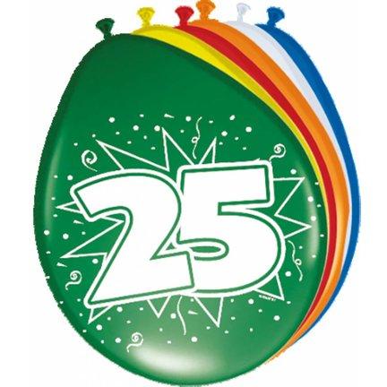 Goedkoop verjaardag versiering 25 jaar kopen