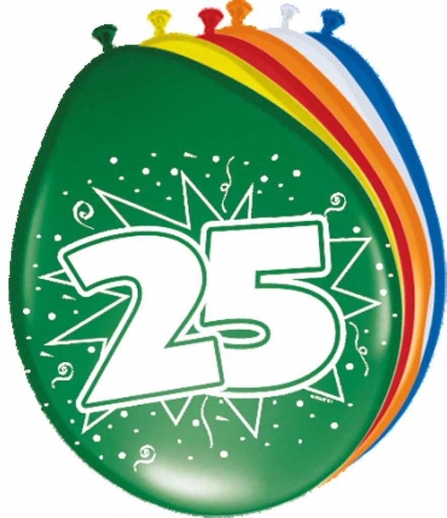 Verjaardag versiering 25 jaar