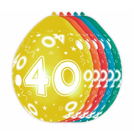 Goedkoop verjaardag versiering 40 jaar kopen