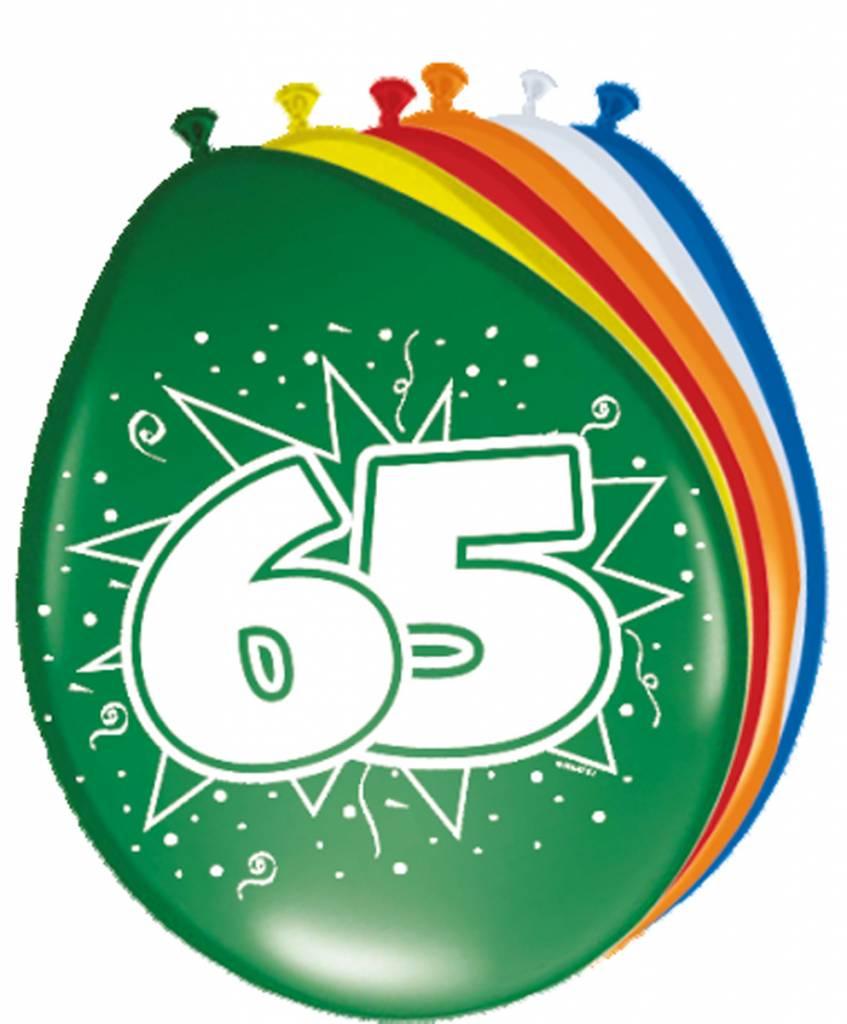 Verjaardag versiering 65 jaar