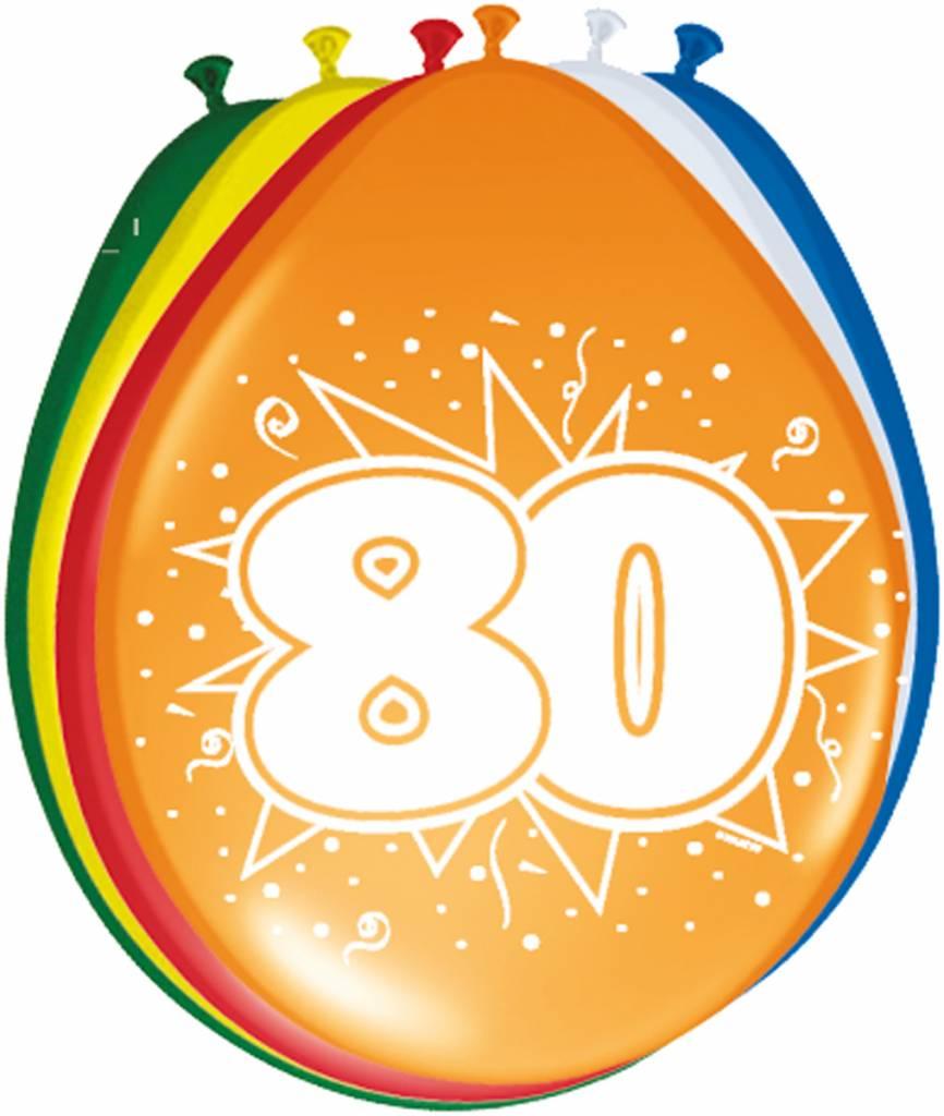 Verjaardag versiering 80 jaar