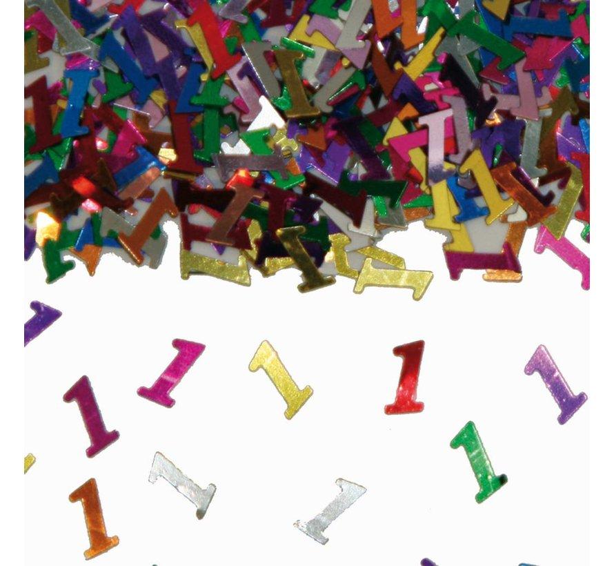 Confetti 1 Jaar Multicolor