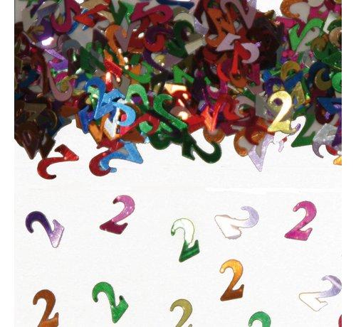 Confetti 2 Jaar Multicolor