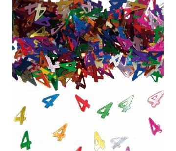 Confetti 4 Jaar Multicolor