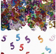 Confetti 5 Jaar Multicolor