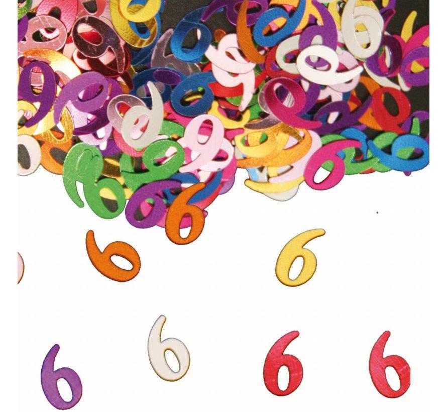 Confetti 6 Jaar Multicolor