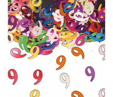 Confetti 9 Jaar Multicolor