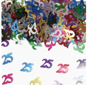 Confetti 25 Jaar Multicolor