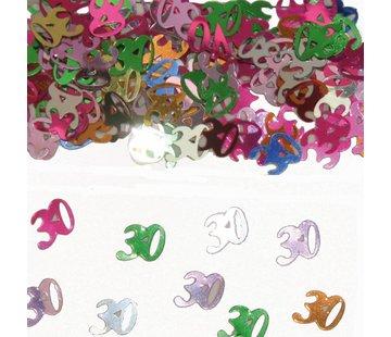Confetti 30 Jaar Multicolor