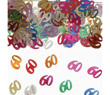 Confetti 60 Jaar Multicolor