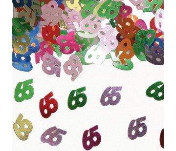 Confetti 65 Jaar Multicolor