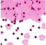 Confetti Voetjes Roze
