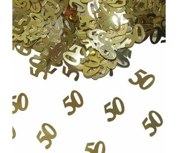 Confetti 50 jaar Goud