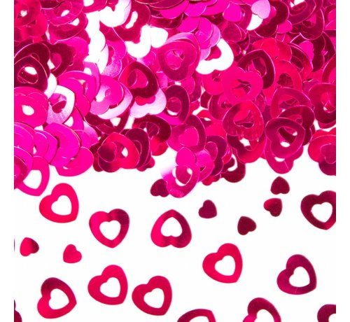 Confetti Hart Roze